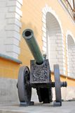 Old cannon in Moscow Kremlin. UNESCO World Heritage Site. Royalty Free Stock Image