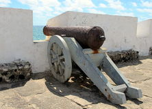 Old Cannon, Natal RN Fort, Brazil Stock Photo