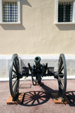 Old cannon at the Palace of Monaco Royalty Free Stock Images