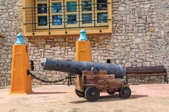 Old Cannon at Rif Fort Royalty Free Stock Photos