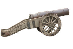 Old_cannon Royalty Free Stock Image