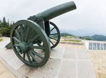The old cannon on the SHIPKA Royalty Free Stock Photos