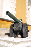 Old cannon shown in Moscow Kremlin. Stock Photo