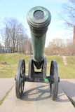 Old cannon, St.Petersburg. Stock Photography