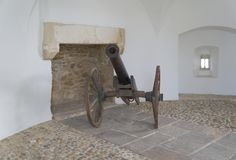 Old cannon in Varazdin Royalty Free Stock Images