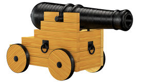 Old cannon, Stock Photo