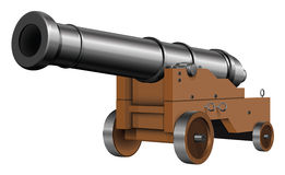 The old cannon Royalty Free Stock Photo