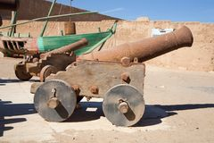 Old cannons Royalty Free Stock Photos
