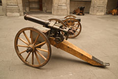 Old cannons Royalty Free Stock Image