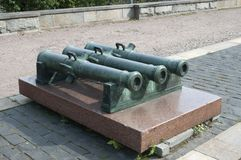 The old cannons Royalty Free Stock Photography