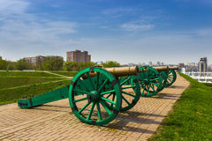 Old cannons Stock Photos