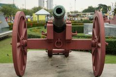 Old cannons Royalty Free Stock Photo