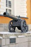 Old cannons in Moscow Kremlin. UNESCO Heritage Site. Old cannons in Moscow Kremlin, a popular touristic landmark. UNESCO World Heritage Site stock photo