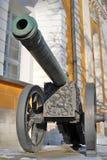 Old cannons in Moscow Kremlin. UNESCO Heritage Site. Old cannons in Moscow Kremlin, a popular touristic landmark. UNESCO World Heritage Site royalty free stock image
