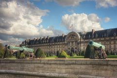 L`hotel national des Invalides. Paris. France Royalty Free Stock Photo