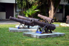 Old cannons Stock Images