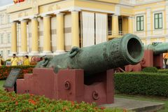 Old cannons Stock Photography