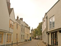 Old canterbury street Royalty Free Stock Images