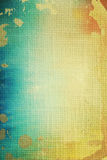 Old canvas: abstract textured background stock image