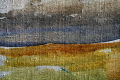 Old canvas, art background. texture of fabric. Old canvas fabric texture background Stock Photography