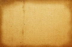Old canvas background Royalty Free Stock Images