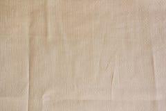 Old canvas, burlap, sackcloth. Royalty Free Stock Photo