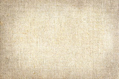 Old canvas texture. Old beige canvas texture background Stock Photography
