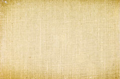 Old canvas texture Royalty Free Stock Images