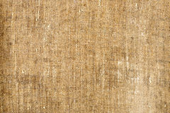 Old canvas texture. Old grunge canvas texture background Stock Image