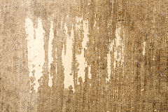 Old canvas texture. Old grunge canvas texture background Stock Photo