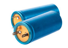 Old capacitor Stock Photography