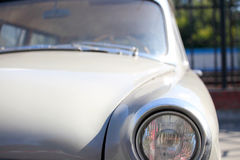 Old car. Old russian  car from summer Royalty Free Stock Image