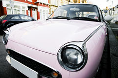 Old car. Photo of an old car in streets of London Royalty Free Stock Photography
