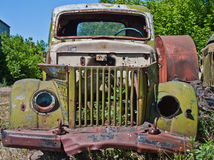 Old Car. Old abandoned car in the outback Royalty Free Stock Photography