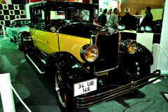 Old Car. An old car model from 2010 Istanbul Auto Show royalty free stock image