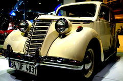 Old Car. An old car model from 2010 Istanbul Auto Show stock images