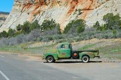 Old Car. Zion National Park, Utah, US Royalty Free Stock Photo