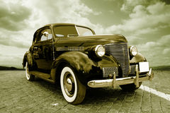 Old car royalty free stock photo