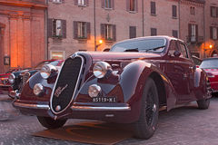 Old car Alfa Romeo Stock Images
