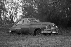 Old Car b/w Royalty Free Stock Photos