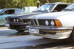 Old-car BMW 6-series 630cs Royalty Free Stock Image