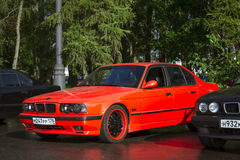 Old-car BMW 5-series e34 Stock Images