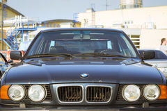 Old-car BMW 5-series e34 Stock Image