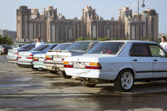 Old-car BMW 3-series e30 Stock Images