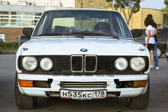 Old-car BMW 3-series m3 Royalty Free Stock Images