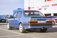 Old-car BMW 5-series Stock Photography