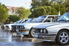 Old-car BMW 6-series 630 Royalty Free Stock Photography
