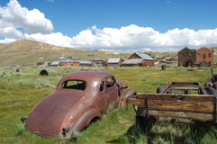 Old car in bodie Royalty Free Stock Photo