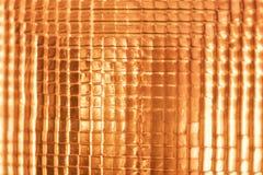 Old car brake light in orange glass. Background Stock Photo