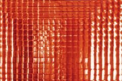 Old car brake light in red glass. Background Stock Photos